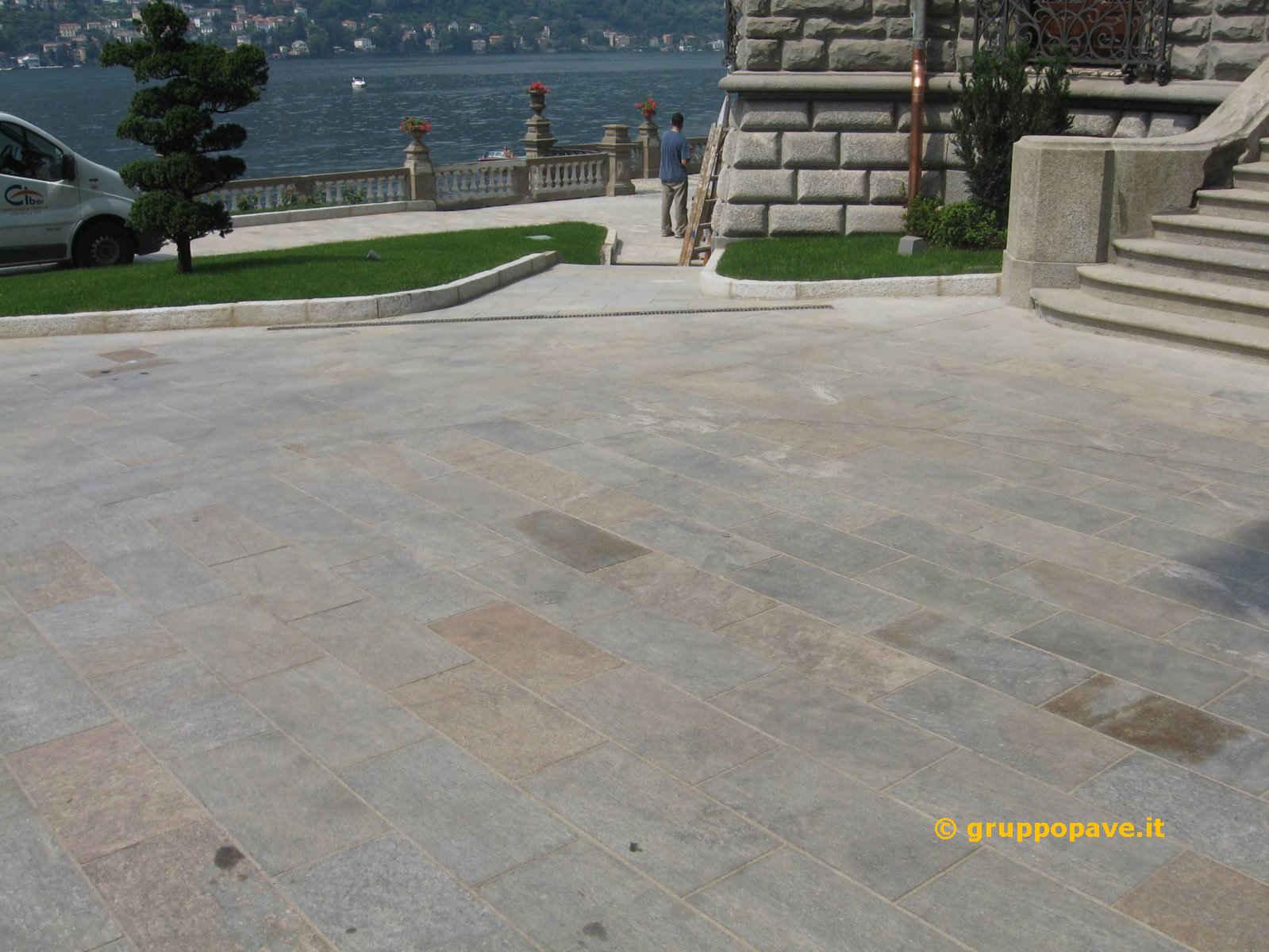 Pavimento In Pietra Di Luserna : Pietra di luserna pave pavimentazioni