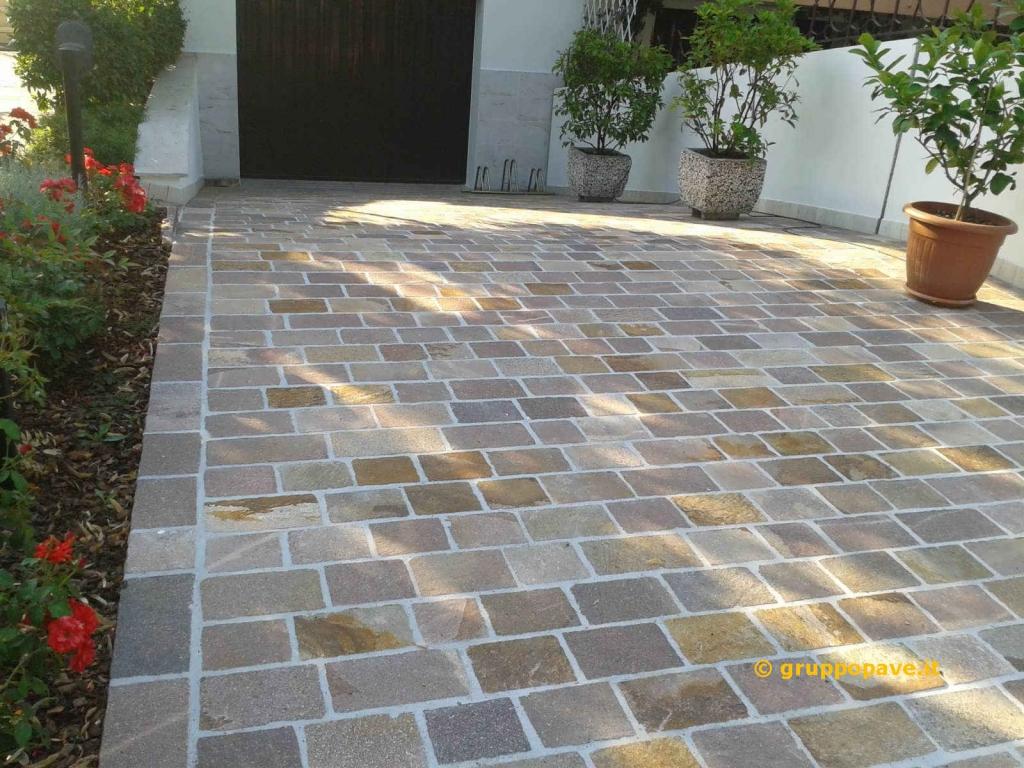 Fornitura e posa pave pavimentazioni - Piastrelle di cemento da esterno ...