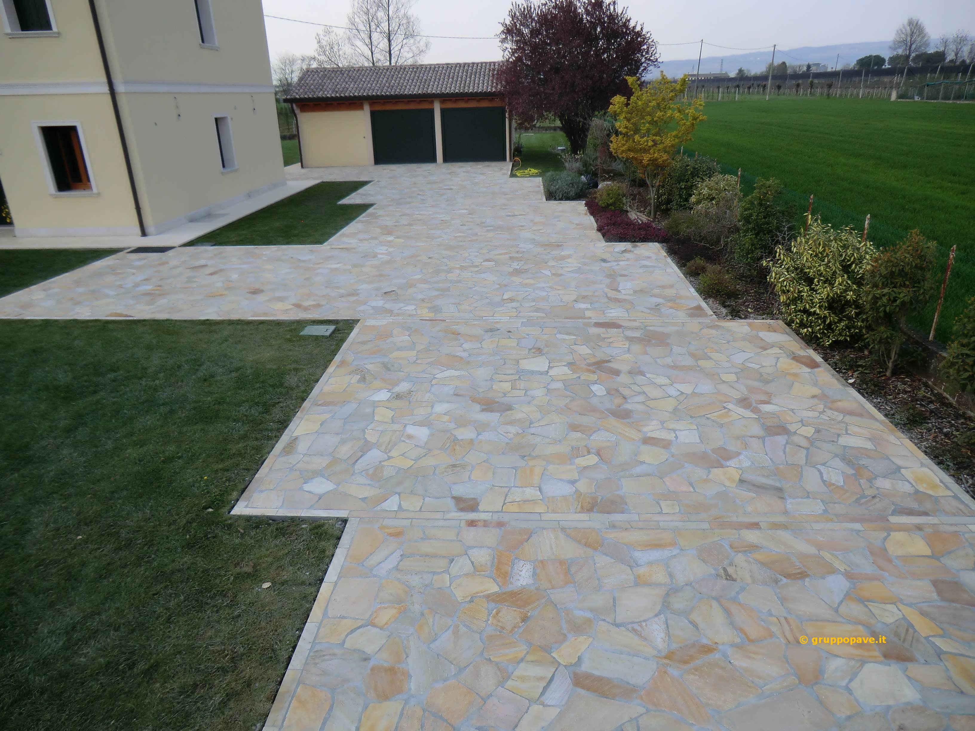 Fornitura e posa pave pavimentazioni - Pavimentazione giardino autobloccanti ...