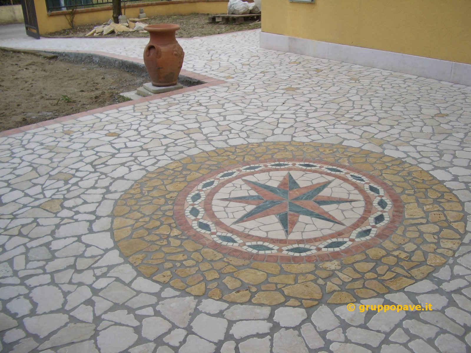 Palladiana in marmo pave pavimentazioni