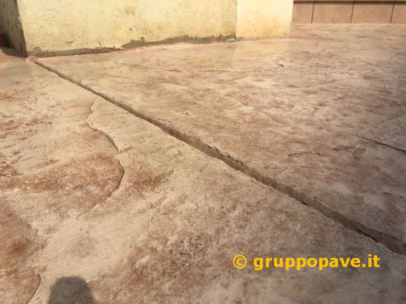 Pavimenti In Cemento Stampato : Pavimento in cemento stampato pave pavimentazioni